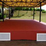 Подиум за аеробика и йога