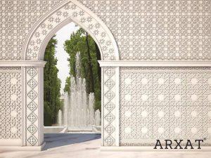 Декоративни орнаменти в ориенталски стил